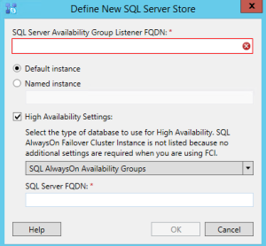 Skype SQL option alwayson