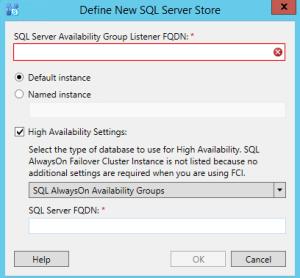 Skype SQL option alwayson