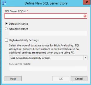 Skype SQL option
