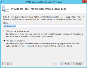 Skype vis server