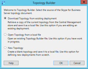 Topology Builder