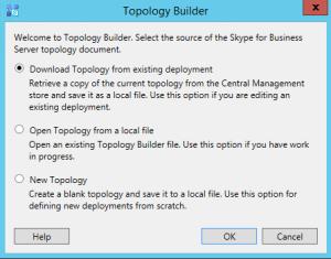 Topology Builder